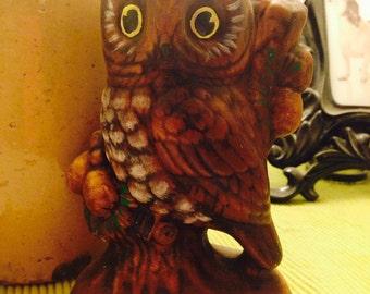 Vinatge owl figurine