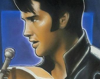 Elvis Presley '68 Comeback Special Portrait