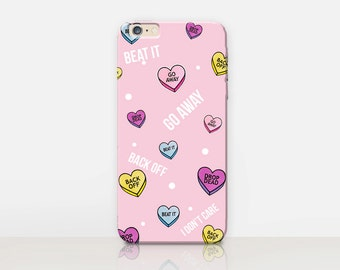 I Don't Care Phone Case- iPhone 7 Case - iPhone 7 Plus Case - iPhone SE Case - iPhone 6S case - iPhone 6 case - iPhone 5 Case Samsung S7