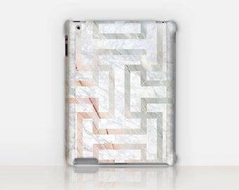Art Deco marble iPad Case For - iPad 2, iPad 3, iPad 4 and iPad Mini, Fine Art Hard Case