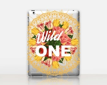 Wild One Transparent iPad Case For - iPad 2, iPad 3, iPad 4 - iPad Mini - iPad Air - iPad Mini 4 - iPad Pro