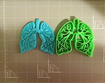 Lungs Anatomy Cookie Cutter