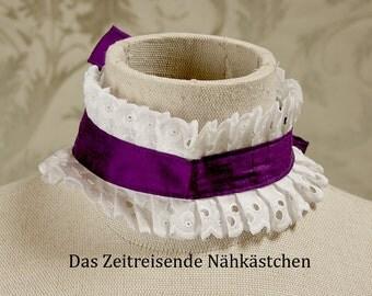 Rococo - collar silk and lace