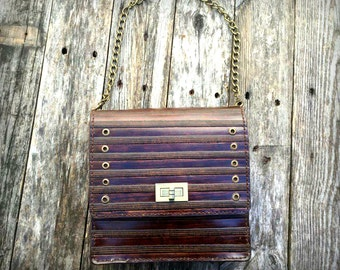 leather shoulder bag, Handmade Leather Purse, %100 real leather, leather bag, real leather shoulder bag ,gift for her