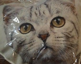 Cat Heart Cushion