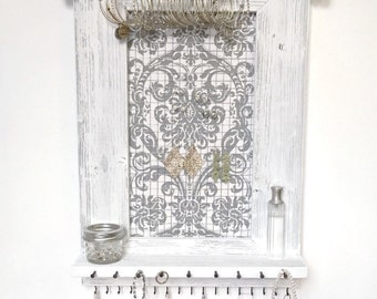 Jewelry Organizer - Hanging Jewelry Organizer - Jewelry Holder