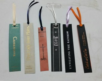 Bookspine bookmark collection 1