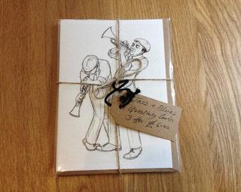 Jazz blues carte de voeux art print hard bop uk - Tirages photos gratuits sans frais de port ...