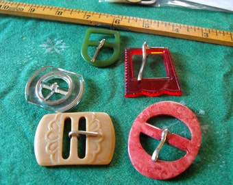 5 estate sale buckles