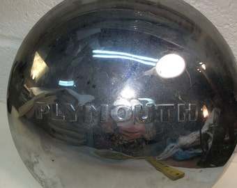 Hubcap Vintage Plymouth Baby Moon Chrome