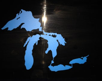 The Great Lakes vinyl sticker