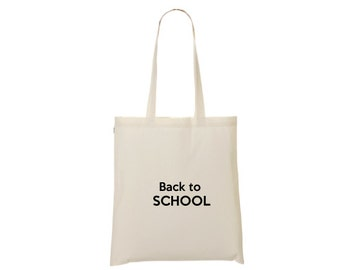 Tote bag Back to school