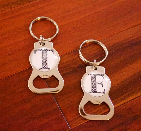personalized keychain bottle opener with hand drawn. Black Bedroom Furniture Sets. Home Design Ideas