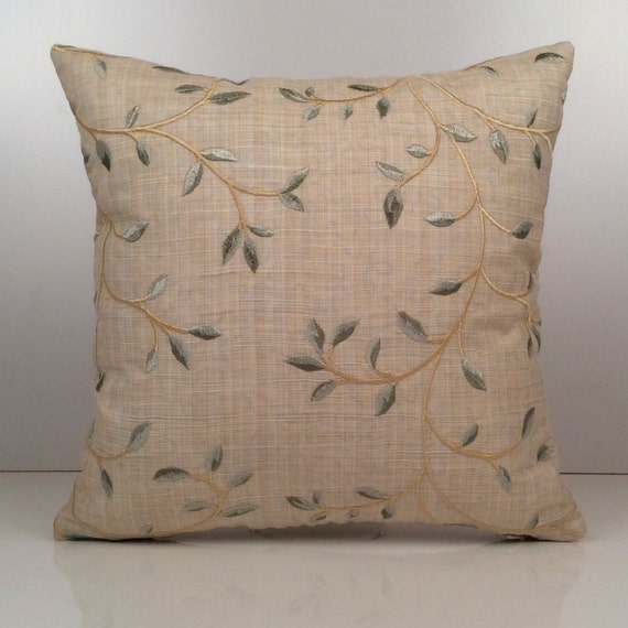 Ivory Beige Pillow Throw Pillow Cover Decorative Cover