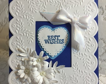 Best Wishes, Greeting Cards, Elegant,