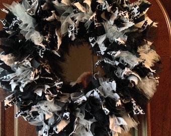 SALE! Handmade Star Wars Rag Wreath