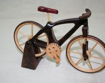 Mountain Bicycle Wood toys christmas gift wood bike