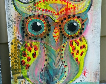 CraZy CooL OwL Painting!!