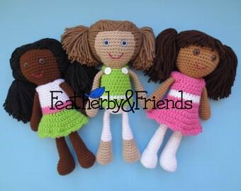 Custom Big Sister Doll - 11 inches