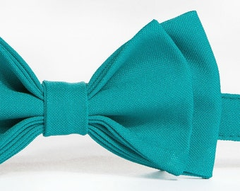 Jade Bow Tie -- Baby Bow Tie, Toddler Bow Tie, Boy Bow Tie, Adult Bow Tie -- Father Son Matching Bow Ties