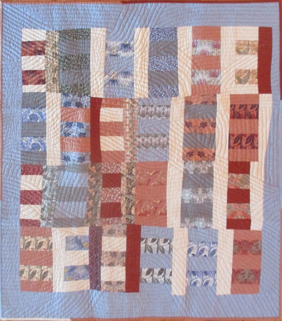 Vosey Improv Quilt by Linda Frost