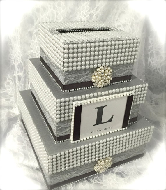 Wedding Card Box: Items Similar To Wedding Card Box, Money Holder, Envelope