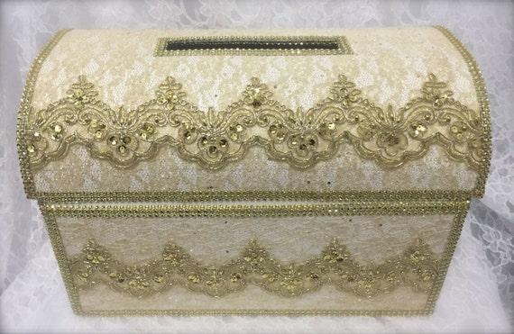 Treasure Chest Money Box Wedding Card Box Wedding Card Box