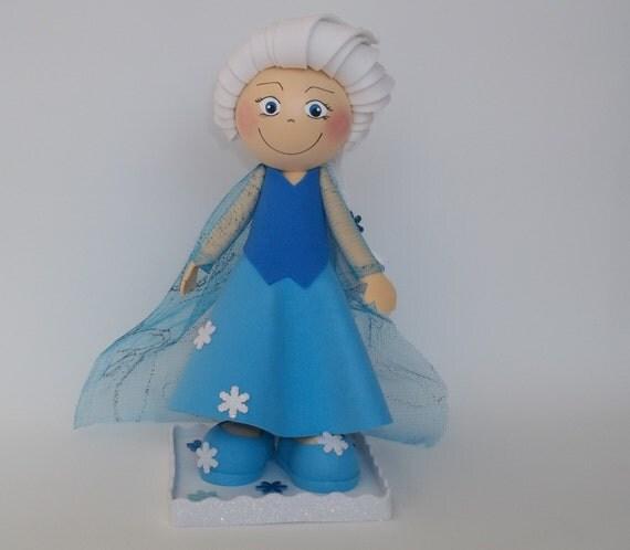 Elsa Doll Cake Decorations : Elsa doll foam doll cake topper party decor birthday