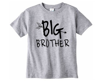 Big Brother Shirt // Big brother announcement shirt, Big brother tshirt, Toddler tshirt, Birth announcement, Graphic tee