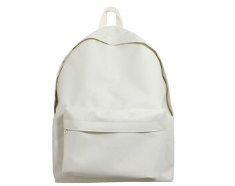 Neat Fabric Backpack (Ivory)