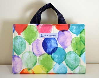 Coloring set, Art folio, travel coloring set - ballons