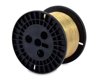 20 gauge wire Artistic Gold Wire Wholesale wire supply - DIY wire wrap Bangles - 20 Gauge Gold Wire - 5 lb bulk spool 1560