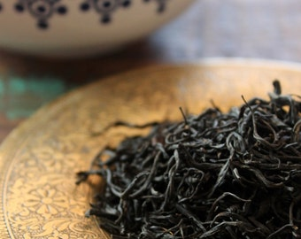 SALE Lapsang Souchong Smoky Loose Leaf Black Tea dried over pinewood fire