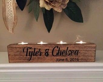 Wedding Candle Block