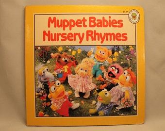 Vintage Muppet Babies Children's Book 1989 Muppet Press The Muppets, Jim Henson, Kermit, Fozzie, Miss Piggy, Gonzo
