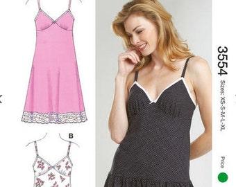 Kwik Sew sewing pattern K3554 Slips and Panties, 2 Styles, Misses, Womens, Teen Girls - new and uncut