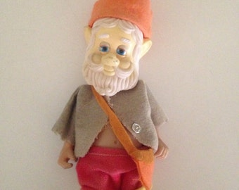 Plastic Gnome with Removable Clothing