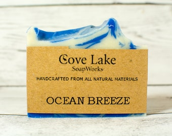 Ocean Breeze Handmade Cole Process Soap
