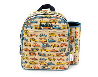 Preschool/Daycare Backpack with Art Silo - URBAN TRAFFIC