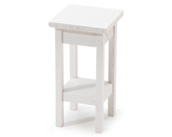 Miniature - White Side Stand