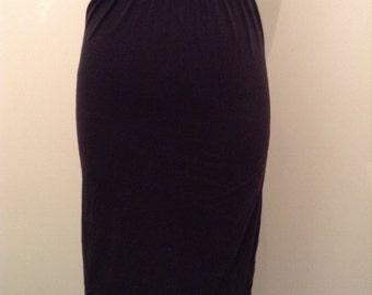 Cotton high waist skirt