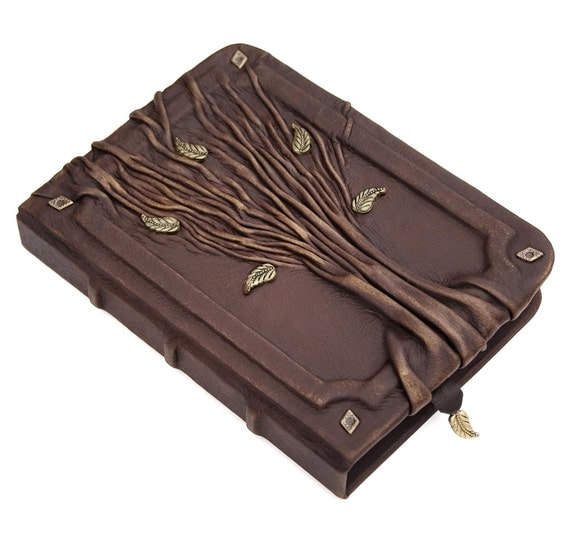 How To Make A Book Cover Out Of Leather ~ Leather journal lined paper personalized by avworkshop