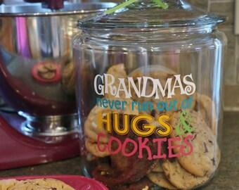 SVG Grandmas Cookies mother's day hugs / EPS PNG