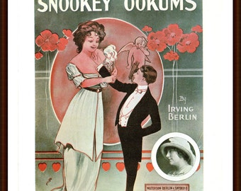 Snookey Ookums and There's a big Cry-Baby in the Moon from the book Memory Lane