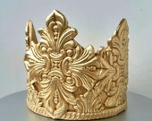 Gold Crown for Prince Party Cake