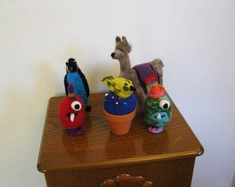 Toys and pin cushions