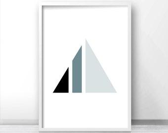 Digital Download Modern Art Print, Geometric Wall Art,  Minimalist Art Print,  Abstract Wall Art, Printable Art, Wall Print, Geometric Decor