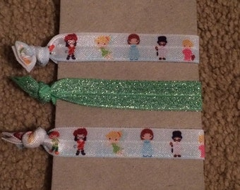 Peter Pan Hair Ties