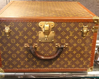Louis Vuitton Hat Steamer Trunk