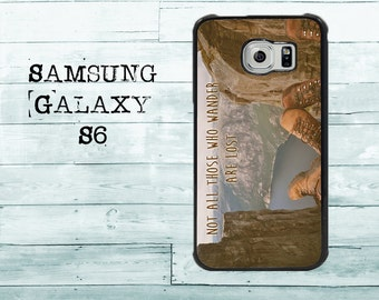 not all those who wander are lost traveler phone cover for Samsung Galaxy S3/S4/S5/S6/S7/S7edge - cool gift idea case for Samsung Galaxy